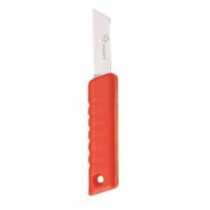 Drijvend mes met vast lemmet van 19 cm inclusief etui