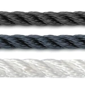 Prijslandvast U-rope zwart wit of navy