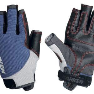 Zeilhandschoen harken spectrum blauw